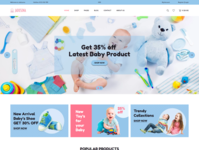 Baby Shop Shopify Theme   Jadusona