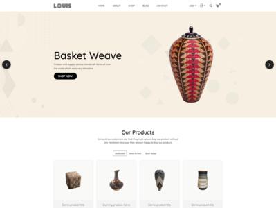 Louis   Handmade   Craft Shopify Theme