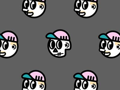 Yo! face concept idea illustration avatar self portrait