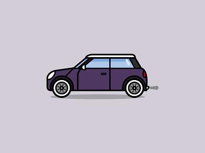 Mini Cooper illustration car mini cooper mini