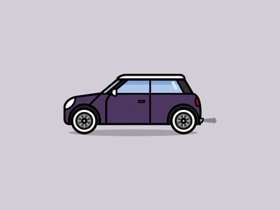 Mini Cooper illustration car mini cooper mini