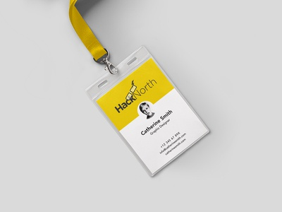 Hacknorth Event Pass tech event pass access lanyard event