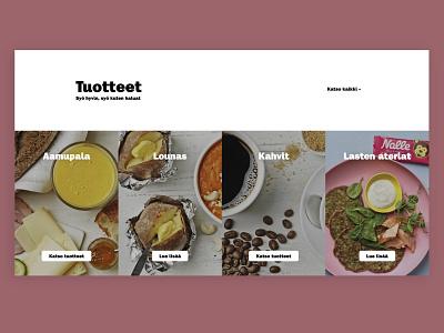 Picnic website - Product categories website developer website website design food and drink design ui ux category product design