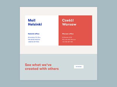 Sangre - About us agency branding website development website design ui