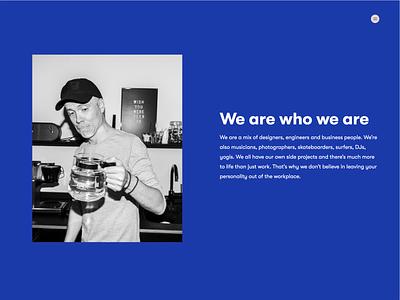 Sangre careers careers design typography ui website design agency branding