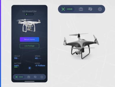 Drone App -  Concept
