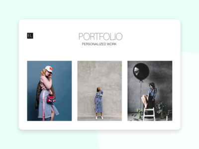 The Portfolio | Adobe XD