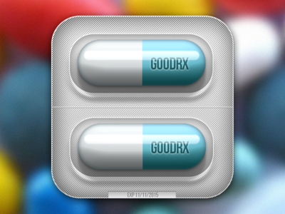 Icon for medical app pill iphone icon