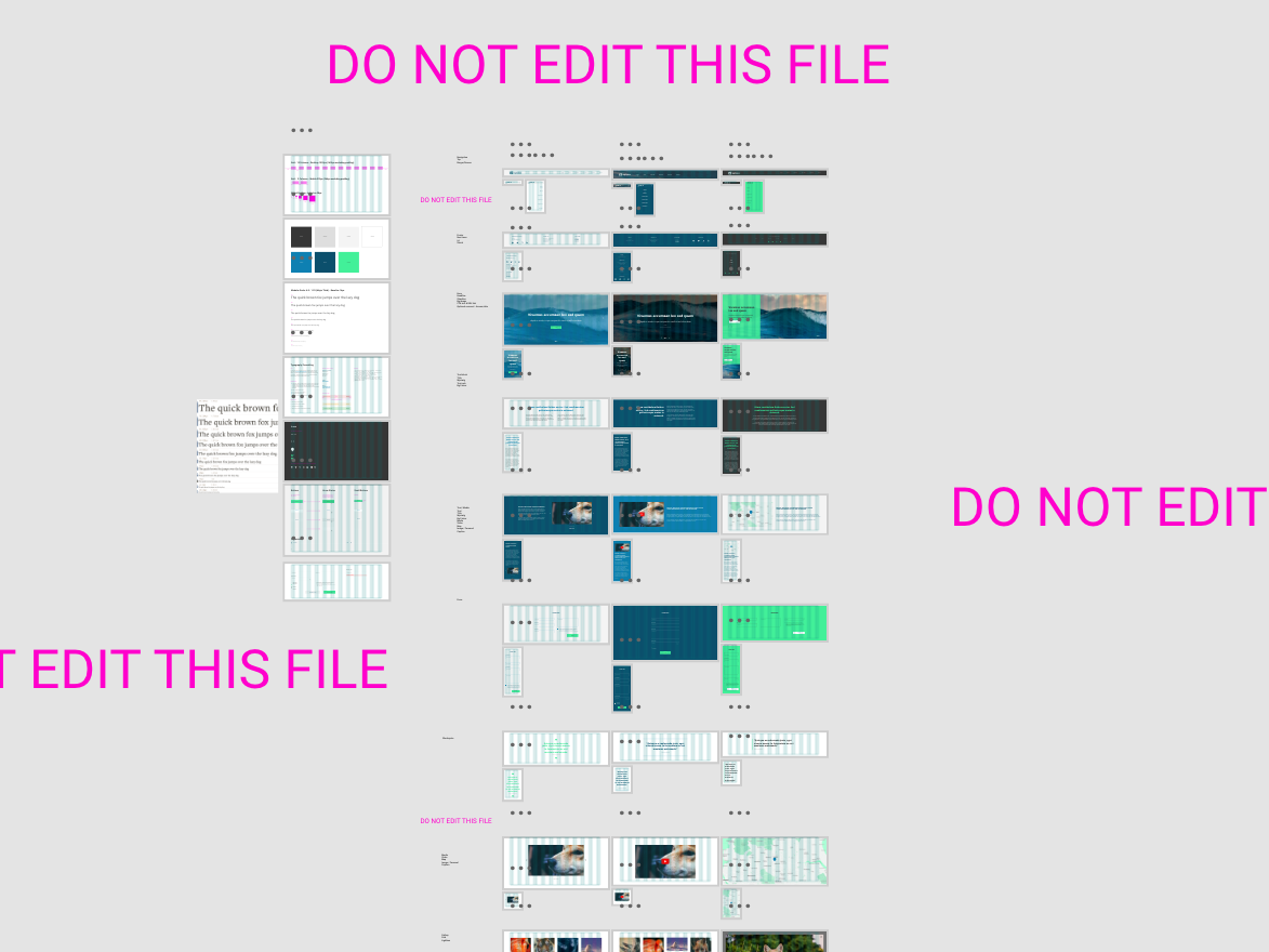Well how else do you stop folks messing up your files? file management ui website design design website xd design adobe xd xd wip
