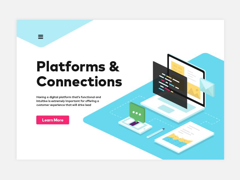 Isometric illustration coding mobile laptop development digital connection platforms illustration isometric