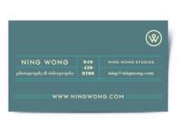 Ning Wong Business Cards