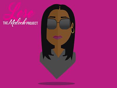 Lese of the Maledo Project logo graphic design profile avatar podcast illustration