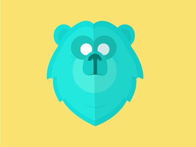Bear With Me illustration logo animal bear