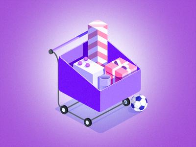 Icon center shopping shop icon app