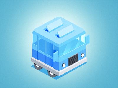 Icon bus transport icon app
