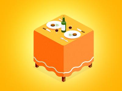 Icon table restaurant icon app