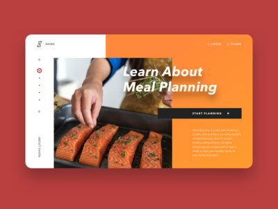 Saven - Meal Planner