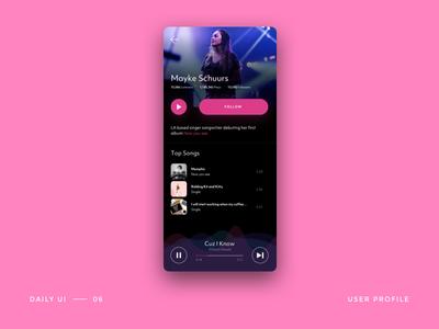 Day 06 - user profile