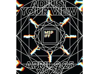 International Film Festival Poster minimal illustrator vector logo illustration typography lettering design