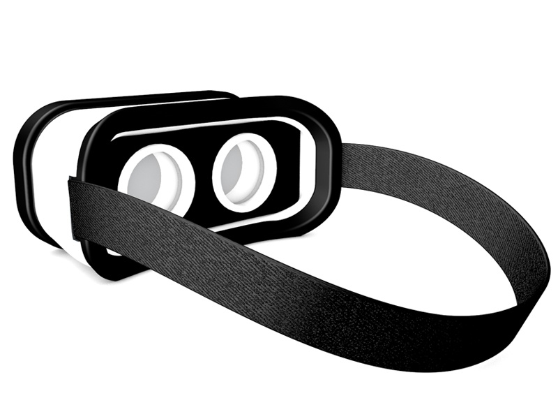 VR Headset back by Nick Paradise on Dribbble