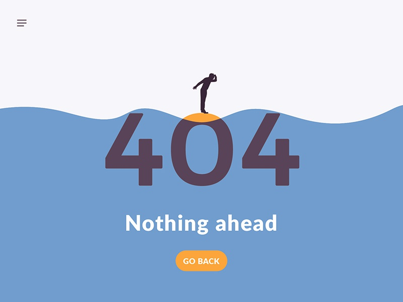 404 Page ui daily island back nothing error 404