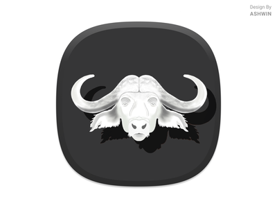 Icon Design Concept buffalo identity iconart icon artwork character design icondesign