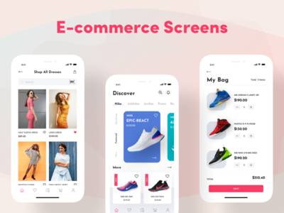 E-commerce experience design, daily UI Challenge