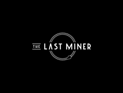 The Last Miner snake logo good knife studio design graphic design web design art deco