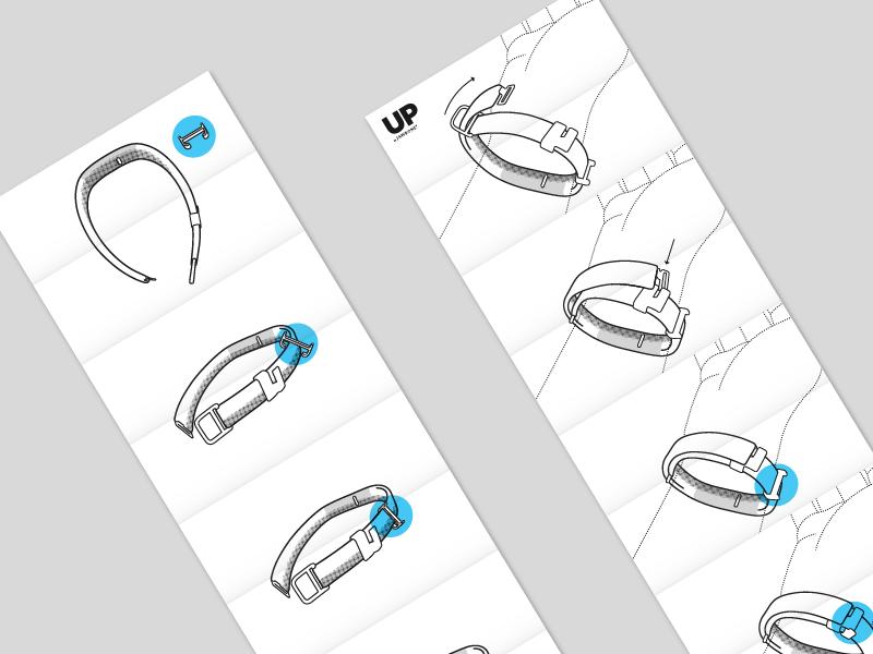 Jawbone Deion Band Instructions By Good Knife Studio Dribbble