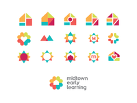 Midtown Early Learning logo brainstorm