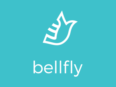 Bellfly mark graphics icon branding