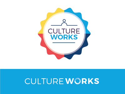 CultureWorks graphic internal culture corporate technology branding