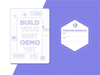 Demo Builder Notebook blueprint collateral notebook