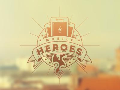 Mobile Heroes mobile heroes old school logos