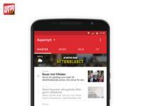 Supernytt for Android