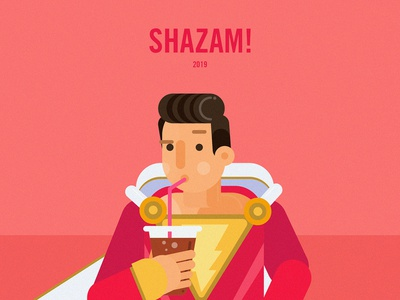 Shazam! art illustrator space sketch
