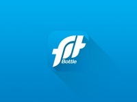 Fitbottle Icon - iOS7 Style
