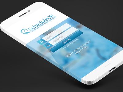 ScheduleOR App