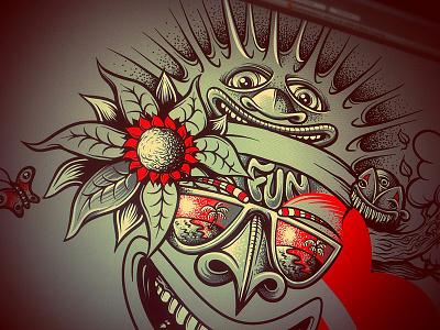 WIP: apparel design mike friedrich cuke illustration digital illustrator hrlqn