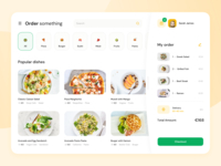 Website for a Food Delivery Service delivery delivery service delivery app food delivery application food delivery service food delivery app food delivery food app website dashboard ux ui web