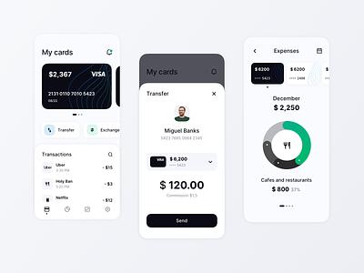 Banking App finance app mobile banking finance social concept website dashboard ux ui design