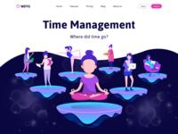 Time management web app