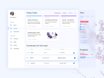 Education | Web app