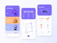 Fitness | Mobile app
