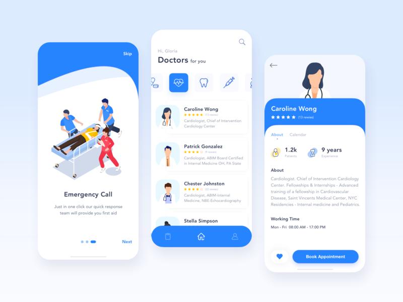 Hospital Mobile App for Patients