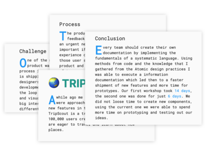 Drop Cap portfolio site ux design scaling typography ux ui product portfolio html improvements prototyping design css