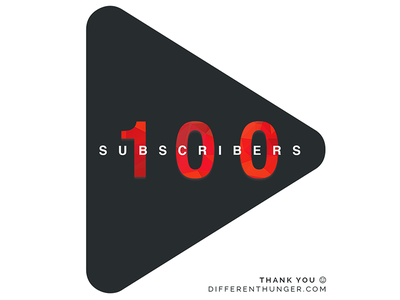 Another big milestone: 100 subscribers on YouTube! simple modern clean minimal vlogging vlog blogging marketing subscribers youtube