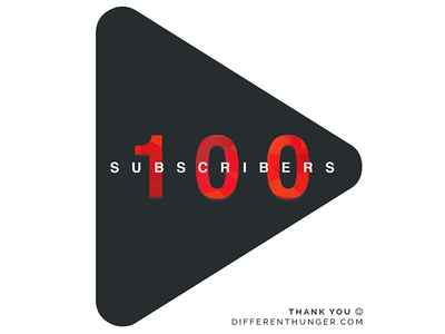 Another big milestone: 100 subscribers on YouTube!