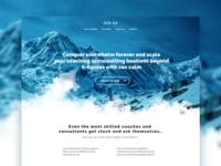 Zen OS Landing Page