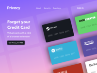 Privacy Redesign